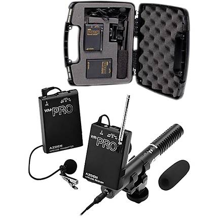 Azden WHD-Pro Portable VHF Wireless System with SMX-10 Microphone (Black)