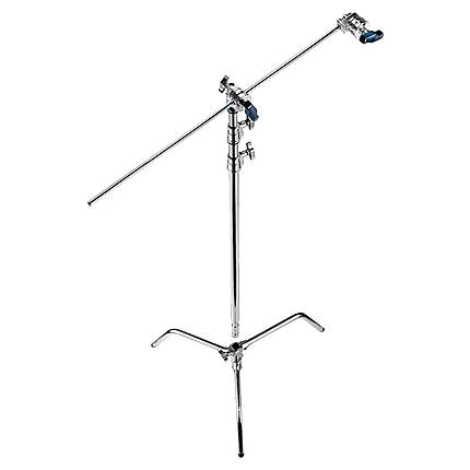 Manfrotto Avenger A2030D 9.8 Ft Turtle Base C-Stand Grip Arm Kit Silver