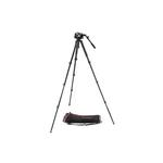 Manfrotto 535 Aluminium 4-Section Single Leg Tripod with Case and MVH504