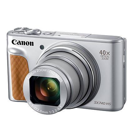 Canon PowerShot SX740 HS Digital Camera - Silver