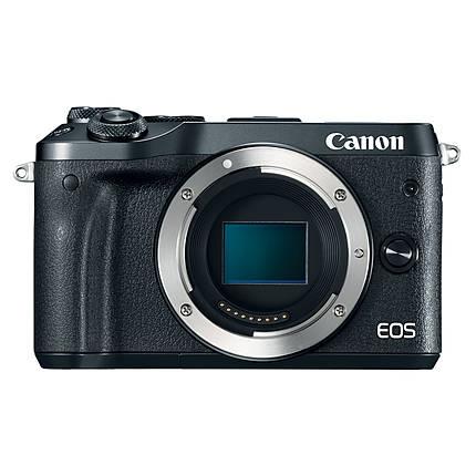 Canon EOS M6 Mirrorless Digital Camera Body Only - Black