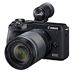 Canon EOS M6 Mark II Mirrorless Camera with 18-150mm Lens  and  Viewfinder Kit (