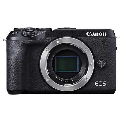 Canon EOS M6 Mark II Mirrorless Camera (Black, Body Only)