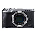 Canon EOS M6 Mark II Mirrorless Camera (Silver, Body Only)