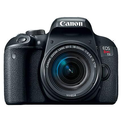 Canon EOS Rebel T7i Digital SLR with 18-55mm f/4-5.6 IS STM Lens