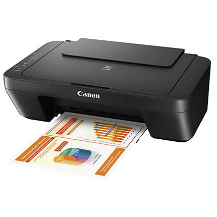 Canon PIXMA MG2525 Inkjet All-In-One Printer - Black