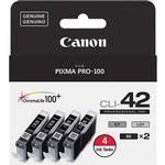 Canon CLI-42 Color 4 Ink Value Pack for Canon Pixma Pro-100 Printer