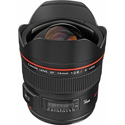 Canon EF 14mm f/2.8L II USM Ultra-Wide Angle Lens - Black