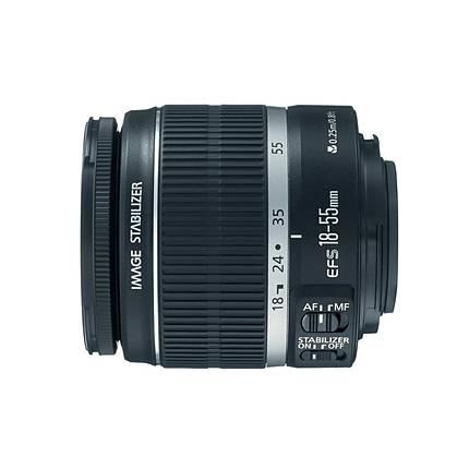 Canon EF-S 18-55mm f/3.5-5.6 IS II Standard Zoom Lens - Black