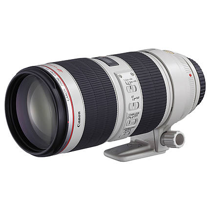 Canon EF 70-200mm f/2.8L IS II USM Telephoto Zoom Lens - White