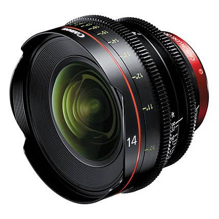 Canon CN-E 14mm T3.1 L F Cinema Prime Lens (EF Mount)