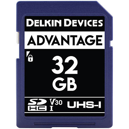 Delkin Devices 32GB SDHC Elite 633X 95MB/s Read 80MB/s Write