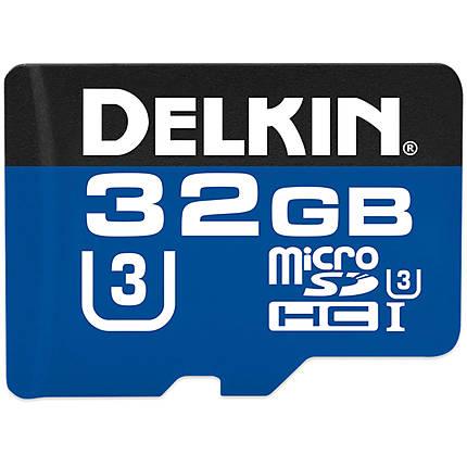 Delkin Devices 32GB MicroSDHC 660X 99MB/s Read 80MB/s Write