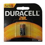 Duracell PX28L Lithium Photo Battery (replaces Kodak KS-28)
