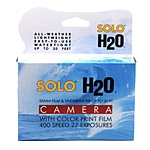 Solo H2O 35mm Single Use Underwater Camera with 400asa 27 Exposure Film
