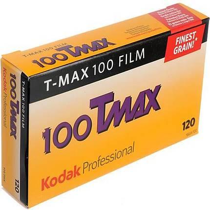 Kodak TMX 120 T-Max 100 Black and White Film (5 Pack)