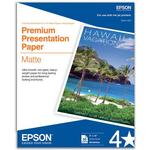 Epson 8x10 In. Borderless Heavy Weight Matte Paper - 50 Sheets
