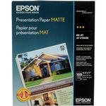 Epson 8.5x11 In. Presentation Matte Paper - 100 Sheets