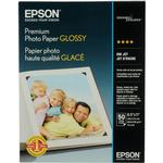Epson 8.5x11 In. Premium Glossy Photo Paper - 50 Sheets