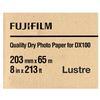 Fujifilm 8x213 DX100 Inkjet Paper Lustre for Frontier-S DX100 Printer