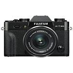 Fujifilm X-T30 Camera with XC15-45mm F3.5-5.6 OIS PZ Lens Kit (Black)