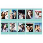 Fujifilm Instax Mini Blue Frame Film