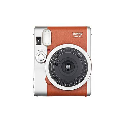 Fujifilm INSTAX Mini 90 Neo Classic Instant Camera - Brown