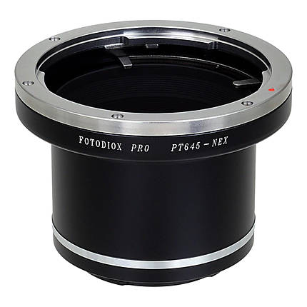 Fotodiox Pro Lens Mount Adapter - Pentax 645 (P645) Mount SLR Lens to Sony E