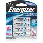 Energizer AA 4pk 9X Ultimate Lithium Battery L91BP4