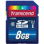 Transcend 8GB 300x UHS-1 Class 10 SDHC Memory Card