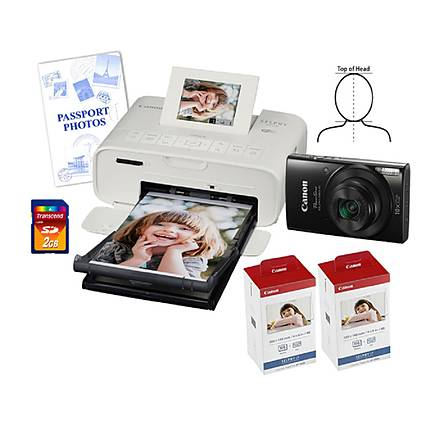 Unique Photo Complete Wi-Fi enabled Passport Printing Solution - Kit