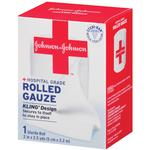 Johnson  and  Johnson Gauze Roll 2inch x 2.5yds