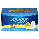 Always Ultra Thin Pads 10ct w/Wings