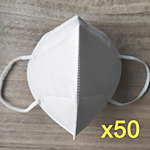 UNIQUE KN-95 MASKS (50 PACK)(KOREAN)(CERTIFIED)(KN95)
