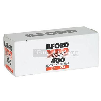Ilford XP-2 Super 120 Black  and  White (Chromogenic C-41) Print Film (ISO-400)