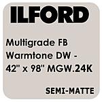 Ilford Multigrade FB Warmtone Paper (Semi-Matte, 42x98ft Roll)