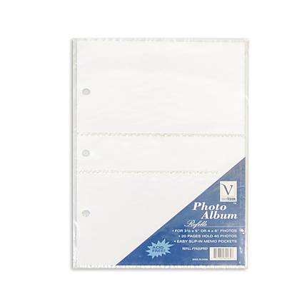 Innovision 4 x 6 In. (2PP) Refills/Mini (10 Pages)