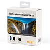 NiSi 77mm Circular Waterfall Filter Kit