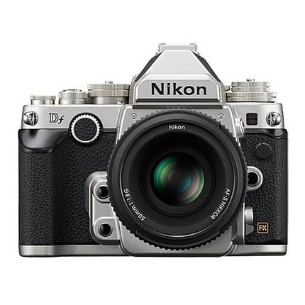 Nikon Df 16.2 MP CMOS Digital Camera with 50mm f/1.8G Lens-Silver