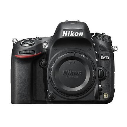 Nikon D610 24.3 MP CMOS Digital Camera Body Only - Black