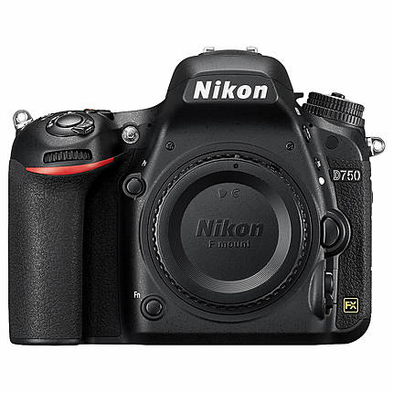 Nikon D750 24.3 MP CMOS Digital Camera Body Only - Black