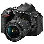 Nikon D5600 DX-format Digital SLR Camera with Refurbished 18-55mm Lens