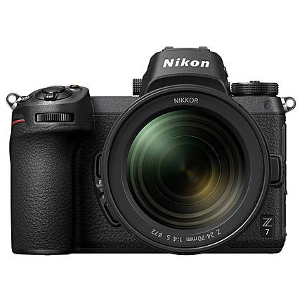 Nikon Z7 FX-Format Mirrorless Camera with 24-70mm f/4 S Lens