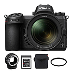 Nikon Z6 Mirrorless Digital Camera with 24-70mm Lens  and  FTZ Mount Adapter Kit