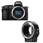 Nikon Z50 Mirrorless Digital Camera with FTZ Adapter