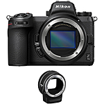 Nikon Z7 II Mirrorless Digital Camera with FTZ Adapter
