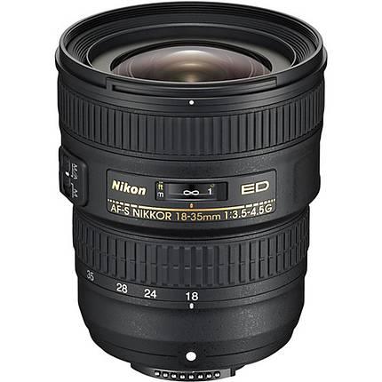Nikon AF-S Nikkor 18-35mm f/3.5-4.5G ED Wide Angle Lens - Black