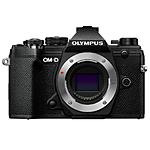 Olympus OM-D E-M5 Mark III Mirrorless Micro 4/3 Digital Camera Body - Black
