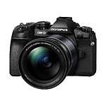 Olympus E-M1 Mark II Camera with 12-200mm F3.5-6.3 Lens Kit (Black)