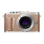 Olympus PEN E-PL10 Mirrorless Micro 4/3 Digital Camera (Brown, Body Only)